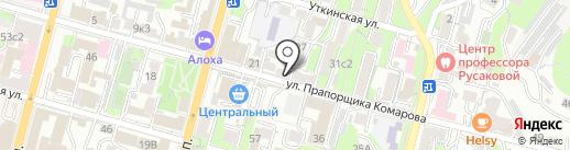 БАГУС на карте Владивостока