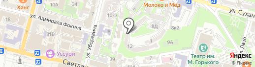 Port House на карте Владивостока