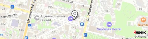Премьера на карте Владивостока
