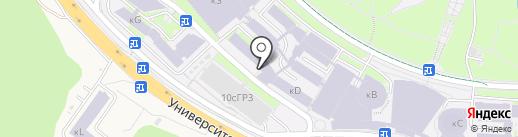 Лупоглаз на карте Русского