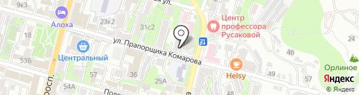 Федерация пауэрлифтинга на карте Владивостока