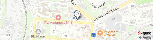 Madame D на карте Владивостока