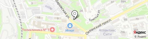 WELLNESS КОСМЕТИКА на карте Владивостока