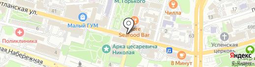 Пекарня Мишеля на карте Владивостока