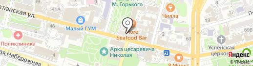 Востоковед на карте Владивостока