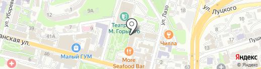 Лидер, АНОО на карте Владивостока