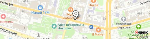 Moore Bar на карте Владивостока