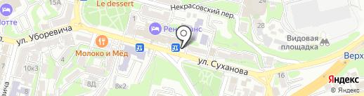 Ворк5 на карте Владивостока