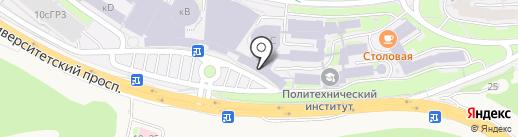 ДВФУ на карте Русского