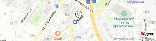 Сергей Черепанов на карте Владивостока