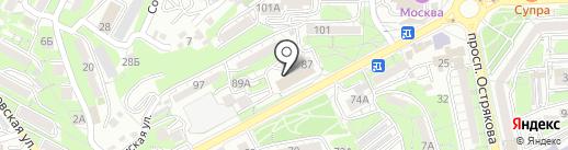 МСМ Групп на карте Владивостока