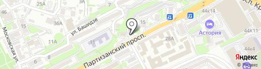 Авеню на карте Владивостока