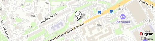 ДейтаЭкспо на карте Владивостока