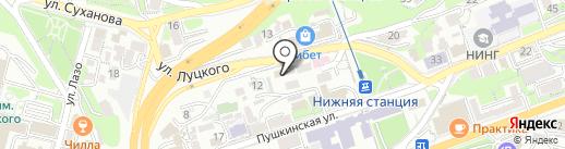 Profi Hair Studio на карте Владивостока