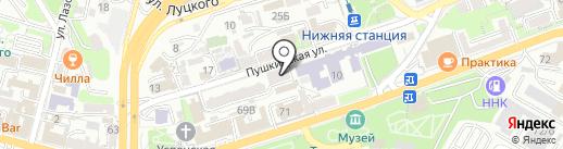 Владивостокская Библейская Церковь Евангельских Христиан на карте Владивостока