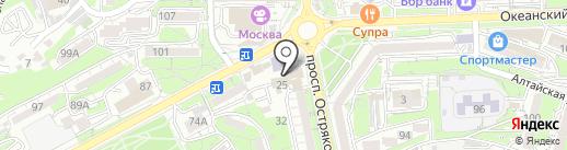 KeraSys на карте Владивостока