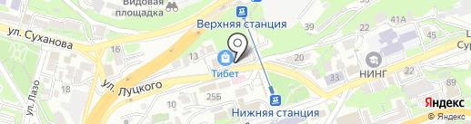 Миллениум на карте Владивостока