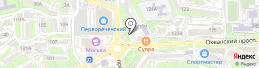 Adventure на карте Владивостока