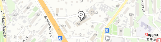 Кварц на карте Владивостока