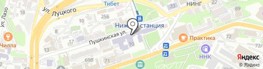 Межрегиональный центр дополнительного профессионального образования на карте Владивостока