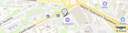 Информ на карте Владивостока