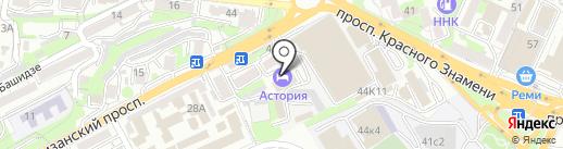 Грин Парк на карте Владивостока
