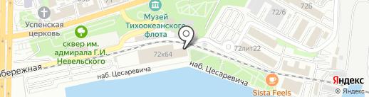 Route 60 Big City Food на карте Владивостока