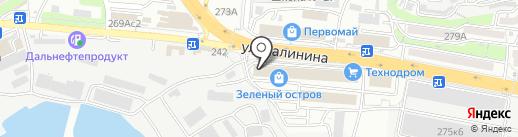 Мама, я не голоден на карте Владивостока