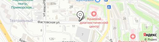ГосЗнак на карте Владивостока