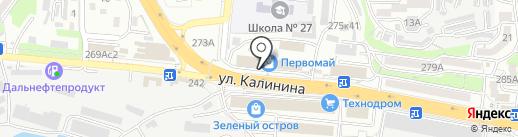 WAY-BEST.ru на карте Владивостока