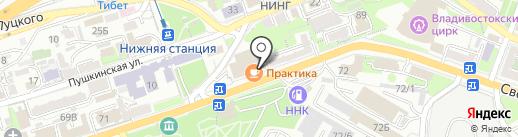 Регион-Авто на карте Владивостока