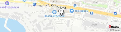 Айкреатив на карте Владивостока