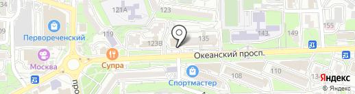 Kooken на карте Владивостока