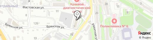 Нотариус Чугаев А.В. на карте Владивостока