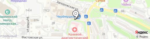 Эстель на карте Владивостока