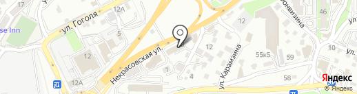 Папа Карло на карте Владивостока