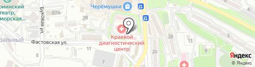 Приморский Краевой эпилептологический центр на карте Владивостока
