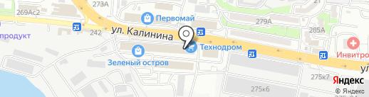 Декор-студия на карте Владивостока