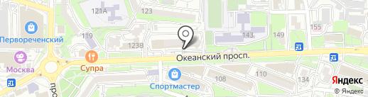 Строительно-экспертное бюро на карте Владивостока