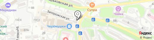 Алмаз на карте Владивостока