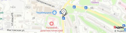 Кондитерская Исаевой на карте Владивостока