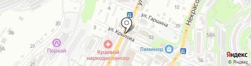 Здрав@птека на карте Владивостока