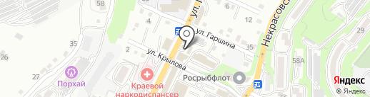 Блеск на карте Владивостока