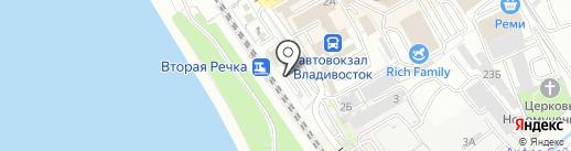Ломбард 4 Колеса на карте Владивостока