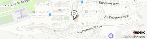 На Поселковой на карте Владивостока