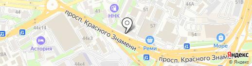 Regulus на карте Владивостока