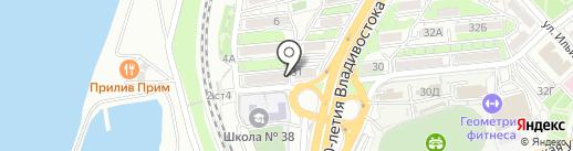 Приморский сервис печати на карте Владивостока