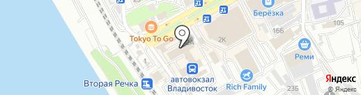 АНТИДОЛГ на карте Владивостока