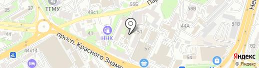 NOTCH на карте Владивостока