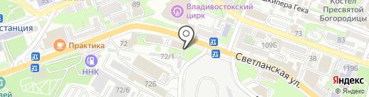 Тиффани на карте Владивостока